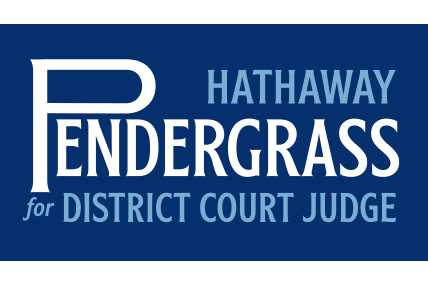 Hathaway Pendergrass for District Court Judge